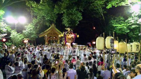例祭神幸祭、祭禮ほおづき市