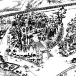 古地図で見る検見川神社