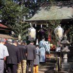 検見川神社境外末社 鷲(おわし)神社例祭